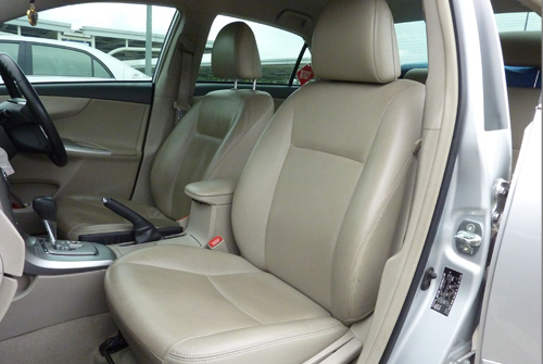 Toyota Corolla Altis Seats