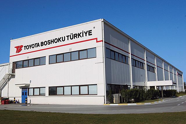 トヨタ紡織トルコ